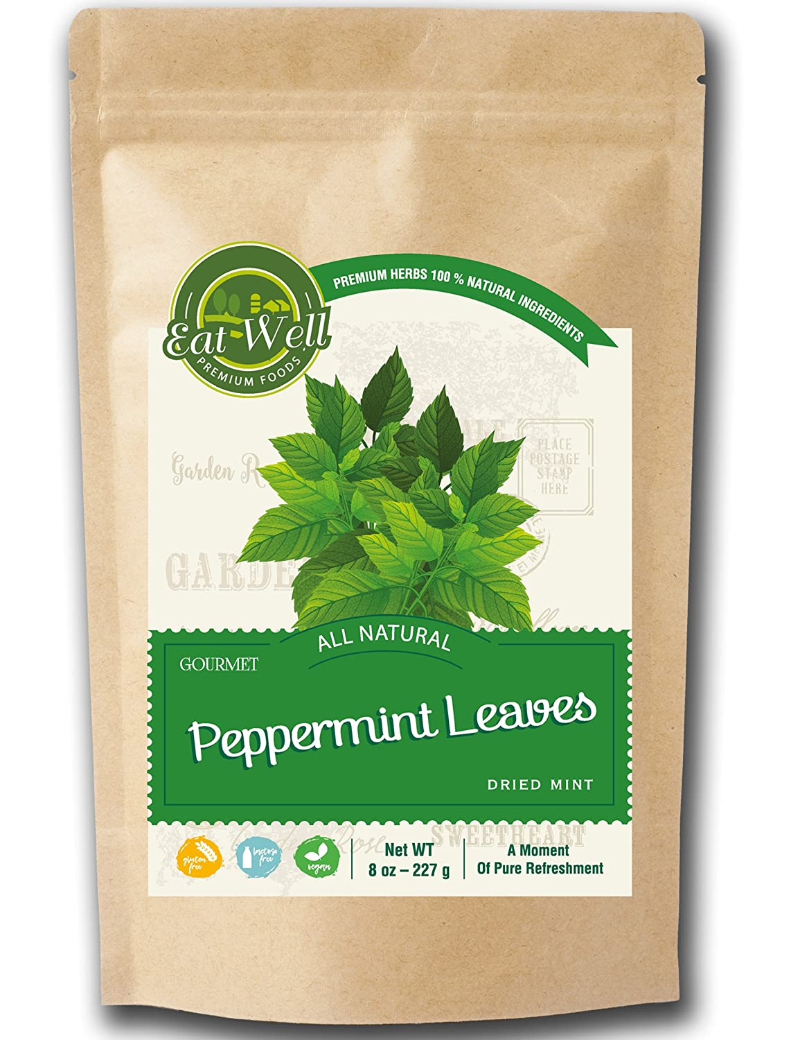 Eat Max 71% OFF Well Premium Foods - Crushed Mint Reseable Leaves oz Bag 8 Soldering