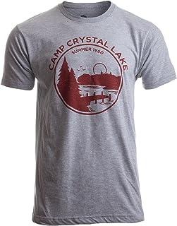 1980 Camp Crystal Lake Counselor | Funny 80s Horror Movie Fan Humor Joke T-Shirt