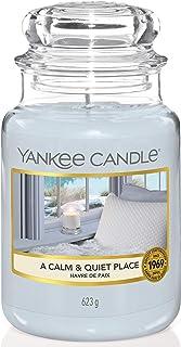 Yankee Candle bougie jarre parfumée | grande taille | Havre de paix | jusqu'à 150 heures de combustion