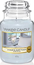 Yankee Candle A Calm and Quiet Place Jar, Grey, 10.7 x 10.7 x 16.8 cm