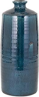 IMAX 13310 Arlo Vase, Large, Blue