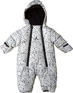 Jordan Baby Boys' or Baby Girls' Hooded Abstract-Print Snowsuit Bunting