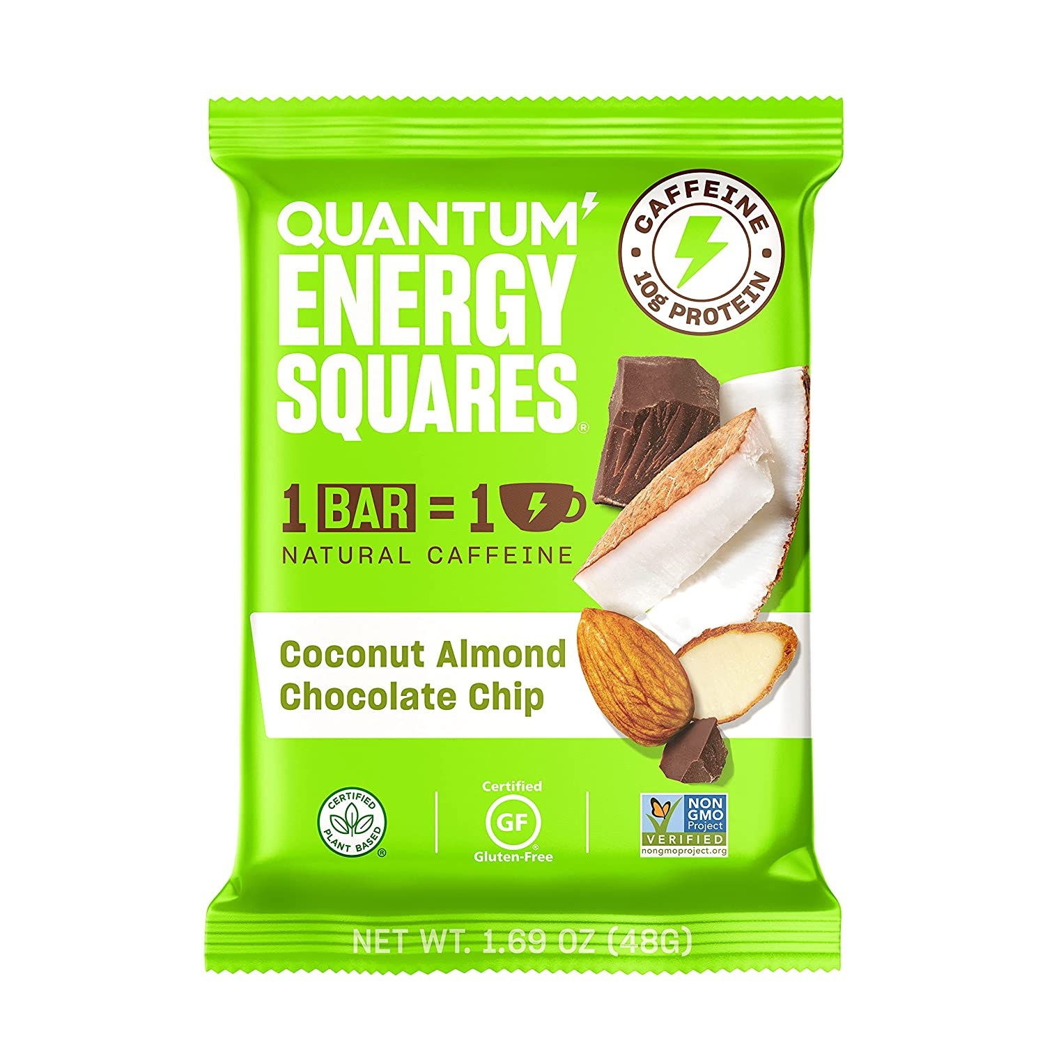 Quantum Discount is also underway Energy Squares Coconut Mesa Mall Almond 1.69 Chocolate Chip Ounc