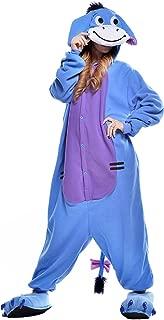 NEWCOSPLAY Adult Donkey Unisex Pyjamas Halloween Onesie Costume