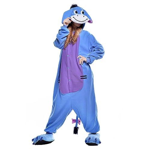 NEWCOSPLAY Adult Anime Unisex Pyjamas Halloween Onesie Costume e79c17c6cd588