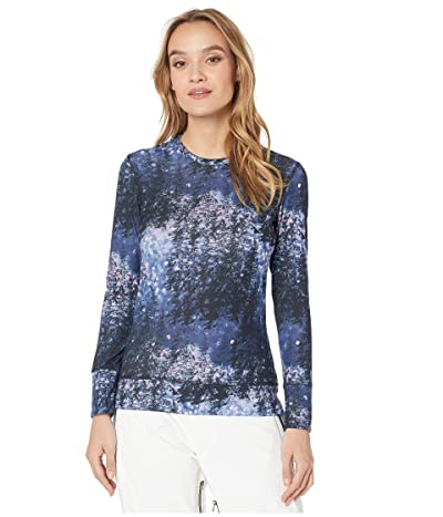 Roxy Daybreak Base Layer Top (Medieval Blue Sparkles) Women