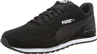 PUMA Unisex Adult ST Runner v2 SD Low-Top Sneakers, Puma Black-Puma Black, 8.5 UK