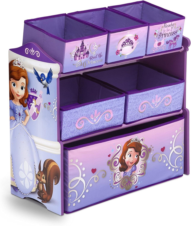 Delta TB84928SF Multi Toy Organizer - Holz mit Canvas  - Sofia