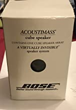 BOSE DOUBLE CUBE SPEAKER BLACK 2nd generation[1ea @ this price]