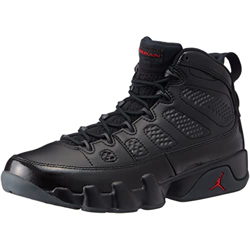 ae31bfd3b680cd Jordan Air 9 Retro Men s Basketball Shoes Black University Red 302370-014