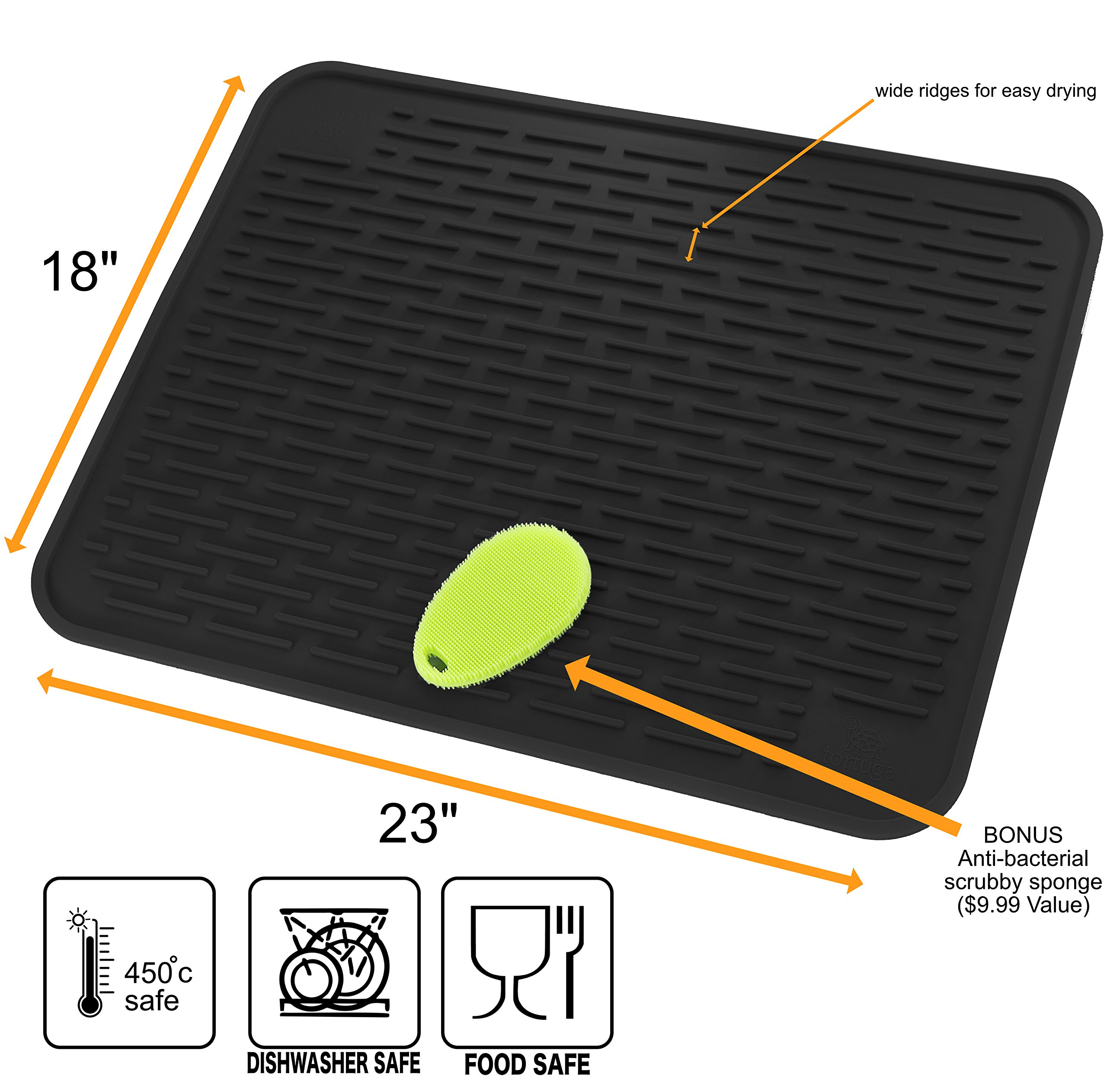 Kitchen Cushion Heat Resistant Trivet Large Home Anti  Dish Drying Mat