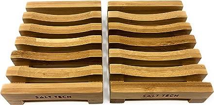 Salt Tech Classic Bamboo Soap Dish (2pc)