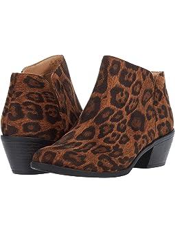 Leopard booties women + FREE SHIPPING