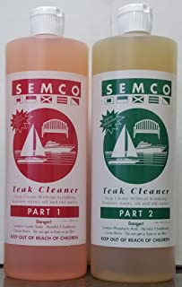 Semco Teak 2 Two Part Cleaner (Quart)