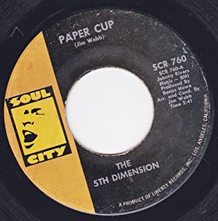 45vinylrecord Paper Cup/Poor Side Of Town (7