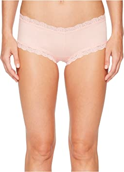 Hanky Panky - Organic Cotton Boyshort w/ Lace