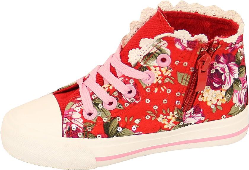 Kelsi Girls Kids Infants Floral Lace