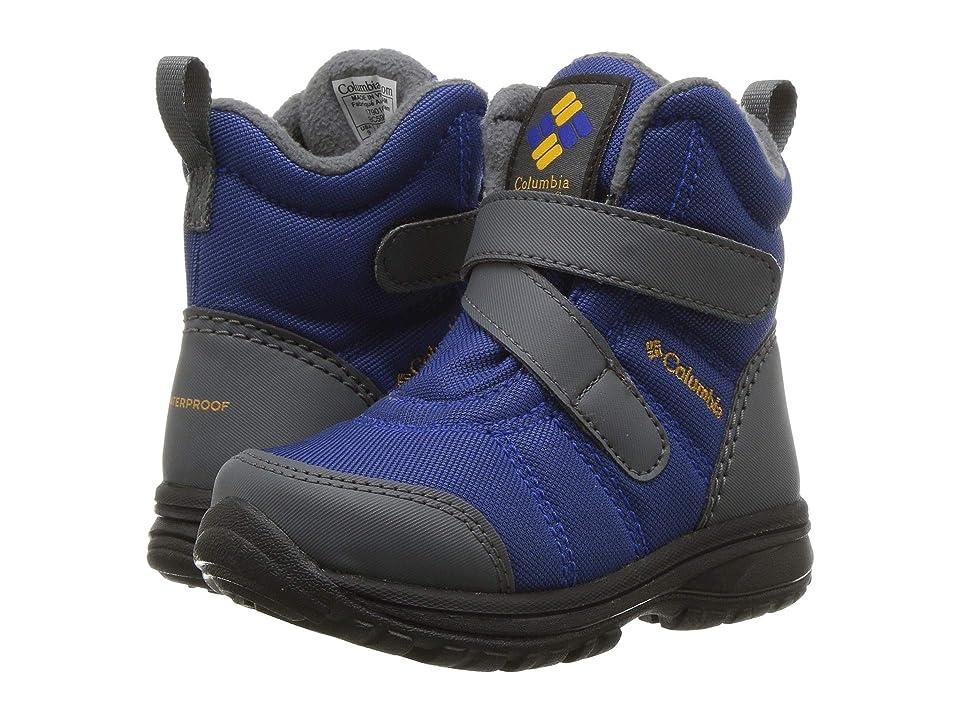 Columbia Kids Fairbankstm (Toddler/Little Kid) (Azul/Squash) Girls Shoes