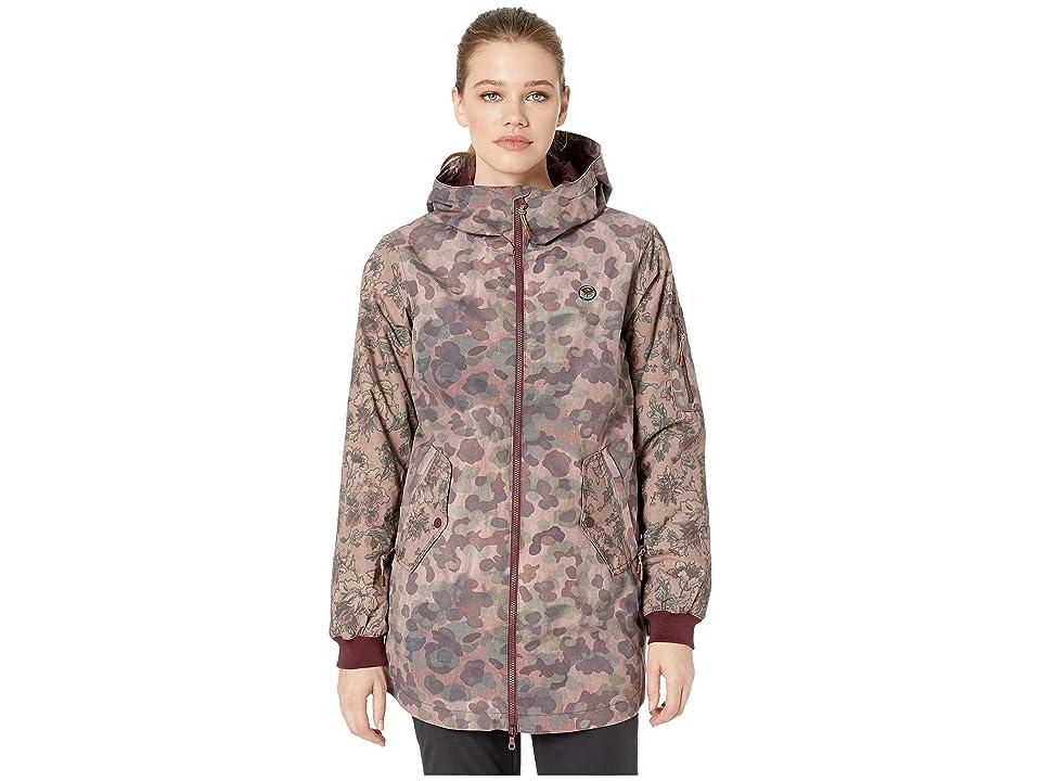 Burton Mossy Maze Jacket (Moss Camo/Floral Camo) Women