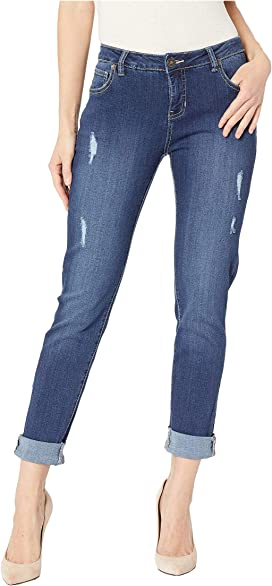 33a4f8a021f0 Jag Jeans Carter Girlfriend Crosshatch Denim in Mid Vintage at ...