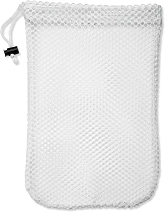 dfabeed45a Handy Laundry Mesh Stuff Bag - Durable Mesh Bag with Sliding Drawstring  Cord Lock Closure.