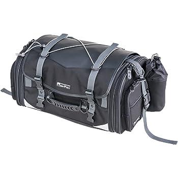 タナックス MOTOFIZZ バイクバッグ ミドルフィールド シートバッグ (可変容量29-40ℓ) ブラック MFK-233 キャンプ ツーリング