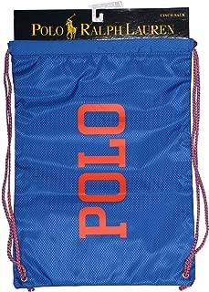 Polo Ralph Lauren Boys Blue Drawstring Bag - Cinch Sack -