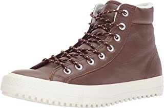 Converse Unisex Chuck Taylor Boot PC Tumbled Leather Sneaker