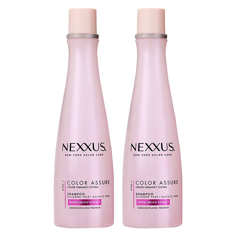 Nexxus Color Assure Shampoo, for Color Treated Hair, 13.5 oz, Twin Pack