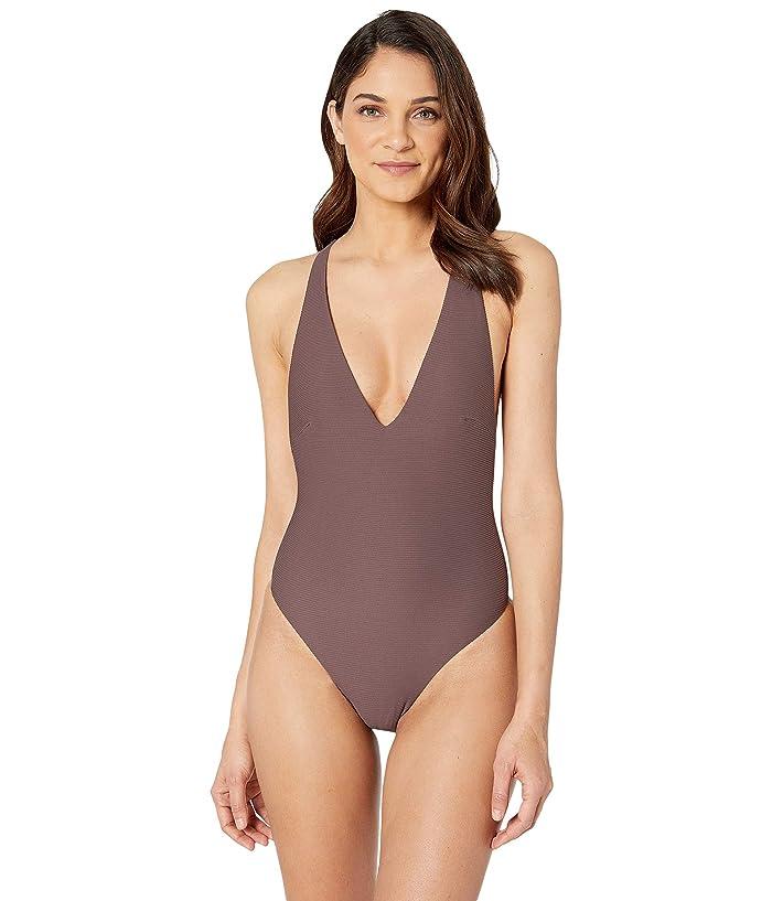 Vitamin A Swimwear Alana Bodysuit Full (Sultana BioRib) Women