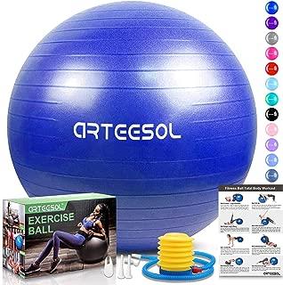 Pelota de gimnasia 75cm con bomba FITNESS YOGA PILATES Sport pelota gymball oficina pelota