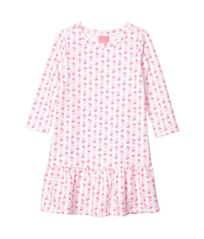Lilly Pulitzer Kids Kim Dress (Toddler/Little Kids/Big Kids) (Pink Topaz Fineapple) Girl