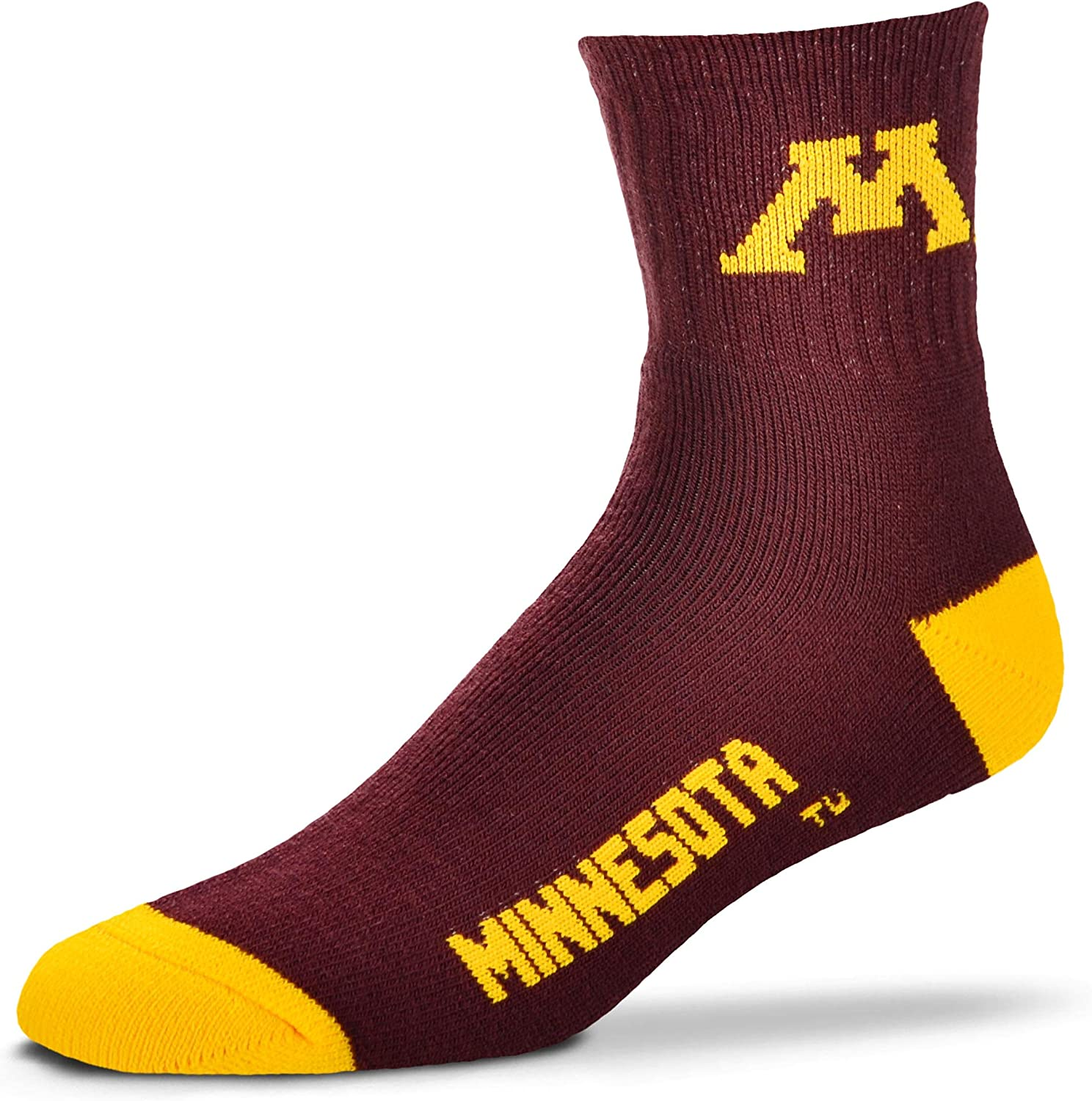For Bare Feet Adult NCAA Crew Socks