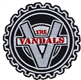 "The Vandals Cog Officially Licensed Original Artwork - 3"" - Iron-On/Sew-On PATCH"