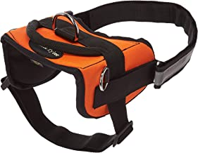Dean & Tyler Works Hearing Dog Pet Harness, Medium, Fits Girth Size: 28 to 38-Inch, Orange/Black