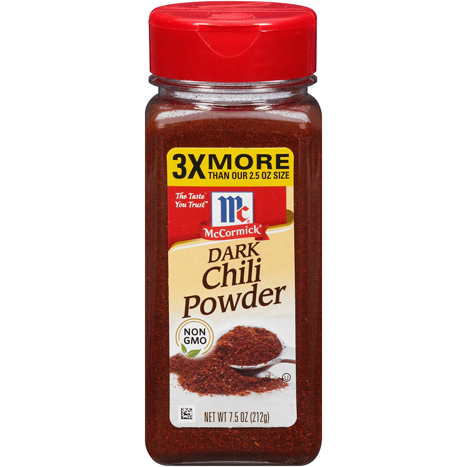 OFFicial McCormick Dark Chili shopping Powder 7.5 OZ 1 of Pack