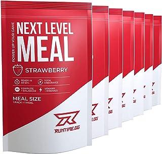 Runtime Meal 7x | Sustituto de las comidas que proporciona saciedad, energía, concentración | 25 vitaminas, minerales y nu...