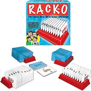 Winning Moves RACK-O, Retro package Card Game