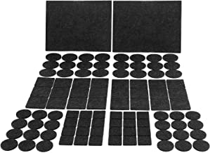 JYPS meubilair stootkussens zelfklevende hoge dichtheid vilt pad, Anti krassen vloer beschermer voor meubels benen en hard...