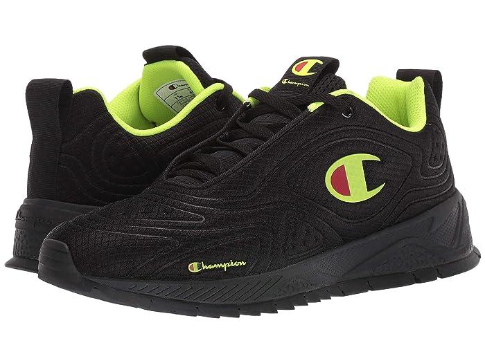 Champion  Flex 19 (Black/Neon Light) Mens Shoes