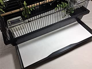 BirdCageLiners - Poly Coated - Small Cages - Custom Size - 150 Pre-Cut Sheets - Up to 225 Ft of Paper