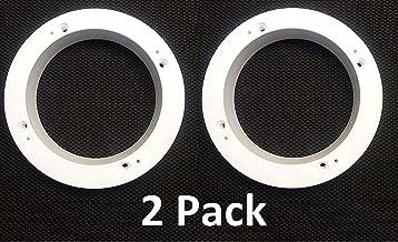 2 Pack White Plastic 1
