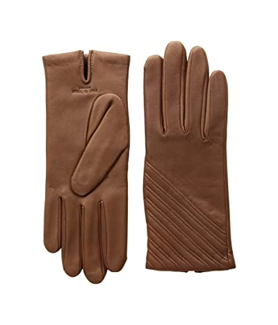 rag & bone Slant Gloves (Dark Brown) Extreme Cold Weather Gloves