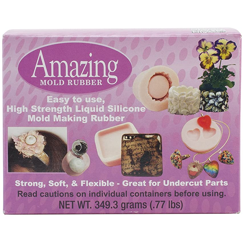 Alumilite Amazing Mold Rubber Kit, 0.77 oz.
