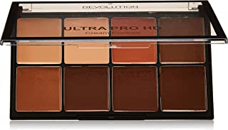 Revolution Contour Palette - Ultra Pro HD Cream Medium Dark