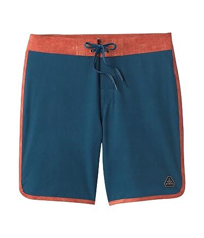 Prana High Seas Shorts (Atlantic) Men