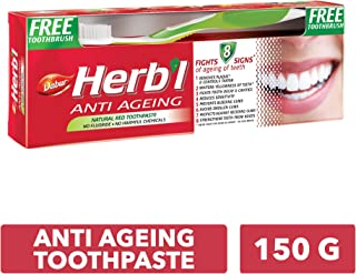 DABUR Herbal Antiaging Toothpaste, 2 x 150 gm