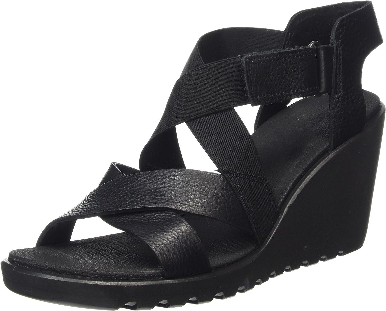 Ecco Footwear Womens Freja Strap Wedge Sandal