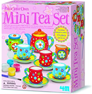4M Tea Set Painting Kit For ages 8 and up