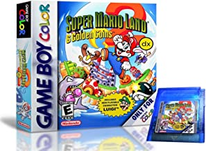 Super Mario Land 2 DX Deluxe Remastered in Full Color Game Boy Color GBC